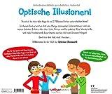 Optische Illusionen: Mit Farbscheiben und Wunderbrille für verblüffende Experimente! - Rufito Bonavista