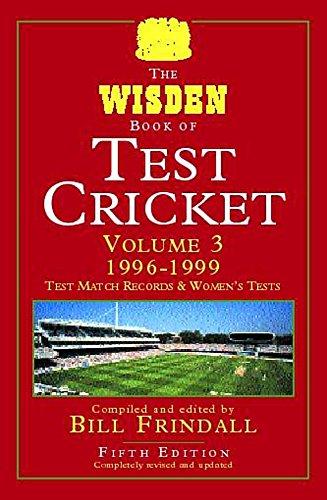 The Wisden Book of Test Cricket 5th Edn Vol 1: v. 3 por Bill Frindall