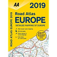 Road Atlas Europe 2019 Flexibound (AA Road Atlas Europe)