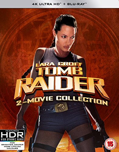 Tomb Raider Boxset [4K UHD and BD] [Blu-ray] UK IMPORT