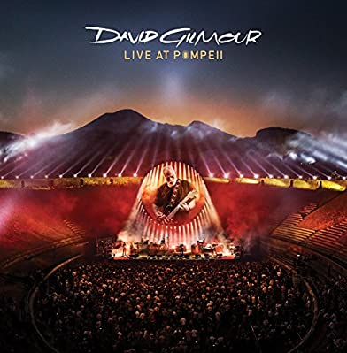 DAVID GILMOUR Live At Pompeii (2017 UK limited edition 21-track FOUR LP set pressed on 180gram Heavyweight Vinyl featuring audio recordings from the Pink Floyd legends live performance in Pompeii including live versions of 5 A.M. TheGreat Gig In The ...