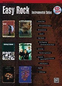 Easy Rock Instrumental Solos, Level 1: Tenor Sax (Book & CD)