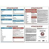 UTTSCHEID Affichage Entreprise obligatoire 2018 Format A4-4 Pages - Design épuré