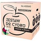 Starter Set para manzanas Vino selbermachen Sidra Zider 20L con recetas para Cider 400040