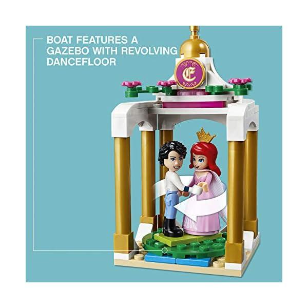 LEGO- Disney Princess Barca della Festa Reale di Ariel, Multicolore, 41153 5 spesavip