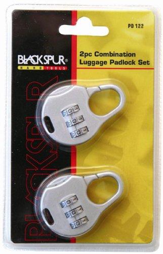 blackspur-lot-de-2-cadenas-a-combinaison-pour-bagage