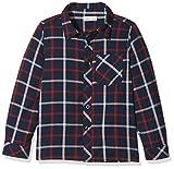 NAME IT Baby-Jungen Hemd NITFISTER LS Shirt M Mini, Grau (Dress Blues), 104