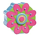 Pink and Green Flower Coin Bank