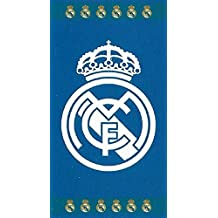 NEW IMPORT Toalla DE Playa 100% Algodón 86x160 cm Real Madrid
