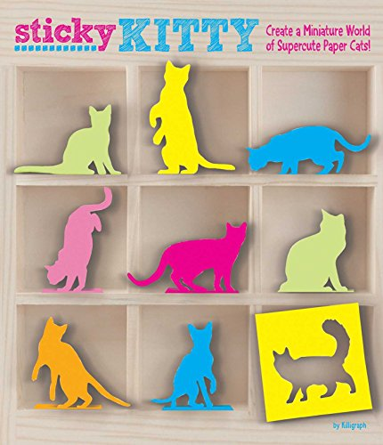 Sticky Kitty: A Miniature World of Cute Paper Cats