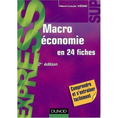 Macroéconomie - en 24 fiches