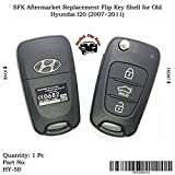 #7: SFK Aftermarket Replacement Flip Key Shell for Old Hyundai I20 (2007~2011)