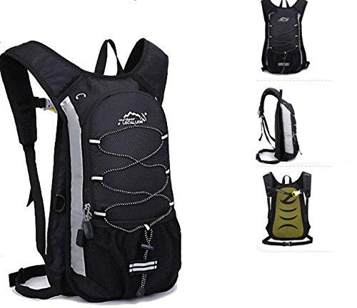 Borse da viaggio all aperto equitazione borsa zaino borsa portatile acqua tempo libero uomini e donne , light blue Black
