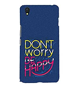 Life Quote 3D Hard Polycarbonate Designer Back Case Cover for OnePlus X :: One Plus X :: One+X