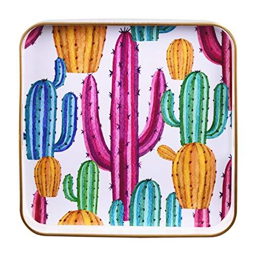 Table Passion - Plateau carré cactus 35 cm