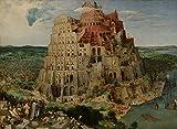 Berkin Arts Pieter Bruegel The Elder Giclee Kunstdruckpapier Kunstdruck Kunstwerke Gemälde Reproduktion Poster Drucken(Der Turm von Babel)