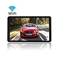 G-TEXNIK GPS Navigation 7 Inch SAT NAV Android for Cars Satellite Navigation System with HD SpeedCam MP3 Lifetime UK EU Maps Built in Bluetooth FM WIFI