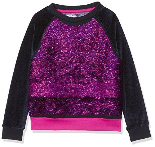 Desigual Mädchen Sweatshirt SWEAT_EPICURO, Blau (Navy 5000), 152 (Herstellergröße: 11/12)