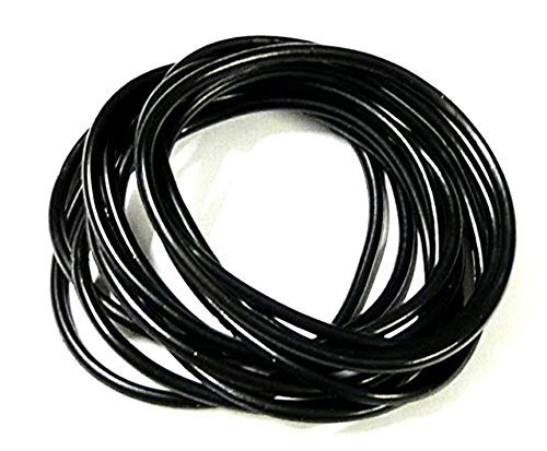 10 Black Jelly Bands
