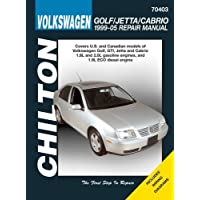 Volkswagen Golf/Jetta/GTI 1999-2005 Repair Manual (Chilton's Total Car Care Repair Manuals) 1st edition by Chilton (2010) Paperback