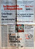 NOUVELLE REPUBLIQUE (LA) [No 13608] du 07/07/1989 - CROIX-ROUGE - L'HEURE DES MECOMPTES - GEORGINA DUFOIX - LA FETE ET LA POLEMIQUE PAR GERBAUD - les sports - TOUR DE FRANCE ET GREG LEMOND - STRASBOURG / GORBATCHEV - SECURITE ET DESARMEMENT - HONGRIE / KADAR DISPARAIT NAGY REHABILITE - LES FETES DU BICENTAIRE