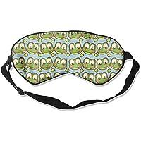 Frog Head Cute Natural Silk Sleep Mask Comfortable Smooth Blindfold for Travel, Relax preisvergleich bei billige-tabletten.eu