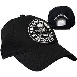 Gorra Biker Skull 2nd enmienda a