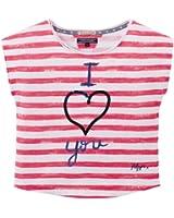 Tommy Hilfiger Mädchen T-Shirt STRIPE SN KNIT Short Sleeve / EX57119385