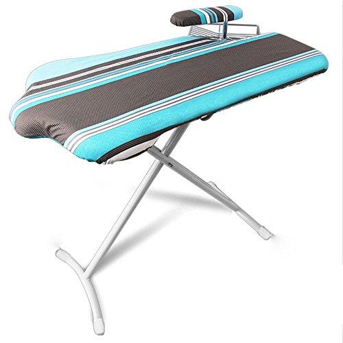 QFFL planche à repasser Ménage pliante table à repasser de bureau peut soulever planche à repasser 103 * 55cm Défroisseur