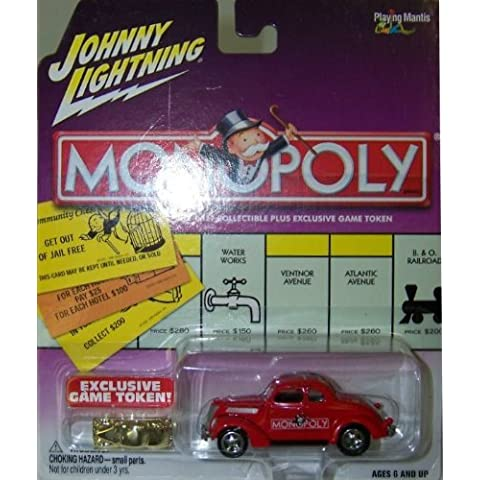 Johnny Lightning Monopoly Kentucky Ave. '37 Ford Coupe by Johnny Lightning
