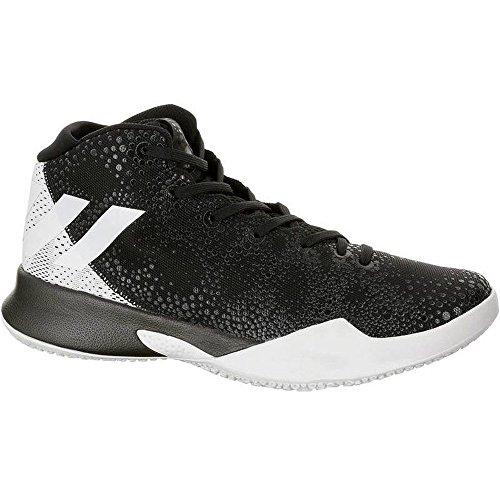 adidas Herren Crazy Heat Basketballschuhe, (Negbas/Ftwbla/Negbas), 47 1/3 EU