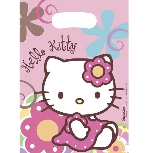 Up Up and Away Hello Kitty Bamboo Lot de 6 Sacs de fête