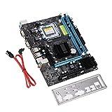 Tosuny Scheda Madre Desktop, Scheda Madre del Computer Dual Core Motherboard USB 2.0 DDR2 667 / 800MHz per Intel LGA 775, per Intel G31 Main Chipset, Dissipazione Rapida del Calore
