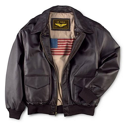 Landing Leathers Men's Air Force A-2 Leather Flight for sale  Delivered anywhere in UK