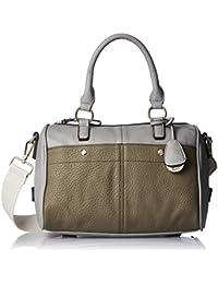 Gussaci Italy Women's Handbag (Grey) (GUS081)