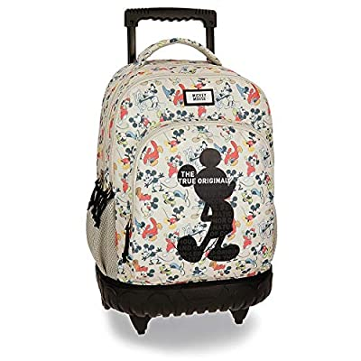 Disney True Original - Mochila escolar, 46 cm, 34.78 litros, Multicolor por Disney