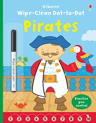 Wipe-clean Dot-to-dot Pirates (Wipe-clean Books)