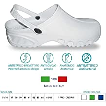 Zuecos sanitarios flotantes antiestáticos BREATH® Art.160 Color Blanco