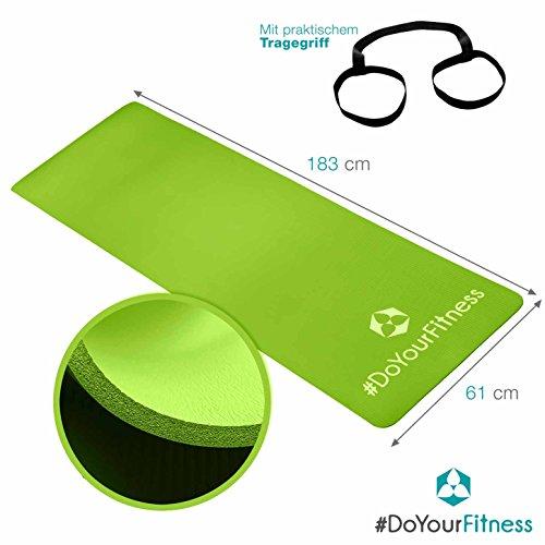 Fitnessmatte Yogini.dick und weich, ideal für Pilates, Gymnastik und Yoga.  Abbildung 3