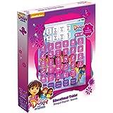 Dora La Exploradora - Tableta educativa bilingüe con 7 actividades, color violeta (Global Ameurop CRAH)