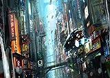 My Little Poster Poster Blade Runner Nacht Strasse Stadt