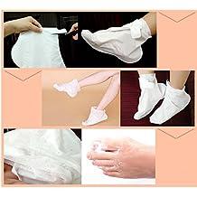 Chaussettes de gommage pour les pieds Masque exfoliant pied pour homme et femme