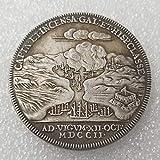 YunBest United Kingdom Old Coins - Pièce de Monnaie Britannique Ancienne en Argent - Pièce de Monnaie Queen Victoria - État Non circulé BestShop...