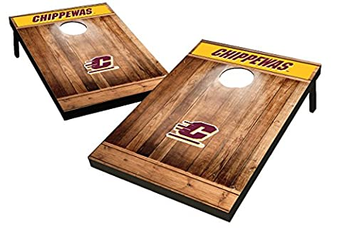 Wild Sports 2'x3' NCAA MDF Wood Central Michigan Chippewas Cornhole Set
