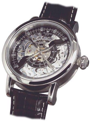 Aeromatic 1912 A1410 Aeromatic A1410 - Reloj , correa de cuero color negro