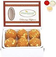 Ghasitaram Gifts Bhaidooj Gifts Sweets - Ghasitaram's Special Besan Laddoo (200