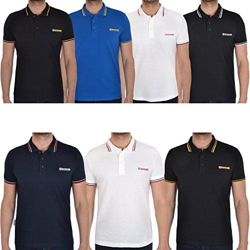 Lambretta Mens Logo Target Classic Short Sleeve Tee T Shirts