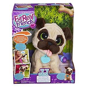 FurReal Friends-J.J. mi Perro Jugador-Peluche Interactive