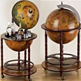 Interv Eucalipto Bar Globe Drinks Cabinet