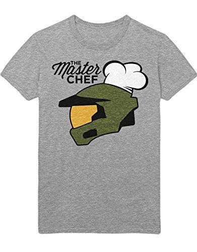 T-Shirt Halo The Master Chef Z100074 Grau L - Master 2 Master Chef